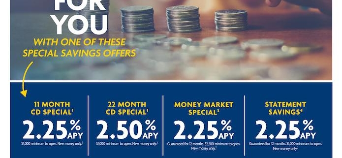 First National Bank of EP Offers Special Promos & Services