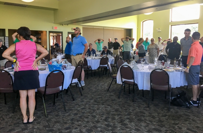 2019 Golf Outing dinner