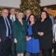 Evergreen Park Chamber of Commerce 2018 Board of Directors pose at Holiday luncheon