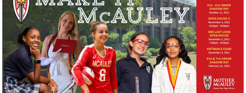McAuley recruiting poster